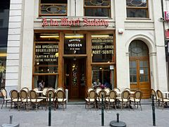 bruxelles café bar punaise de lit