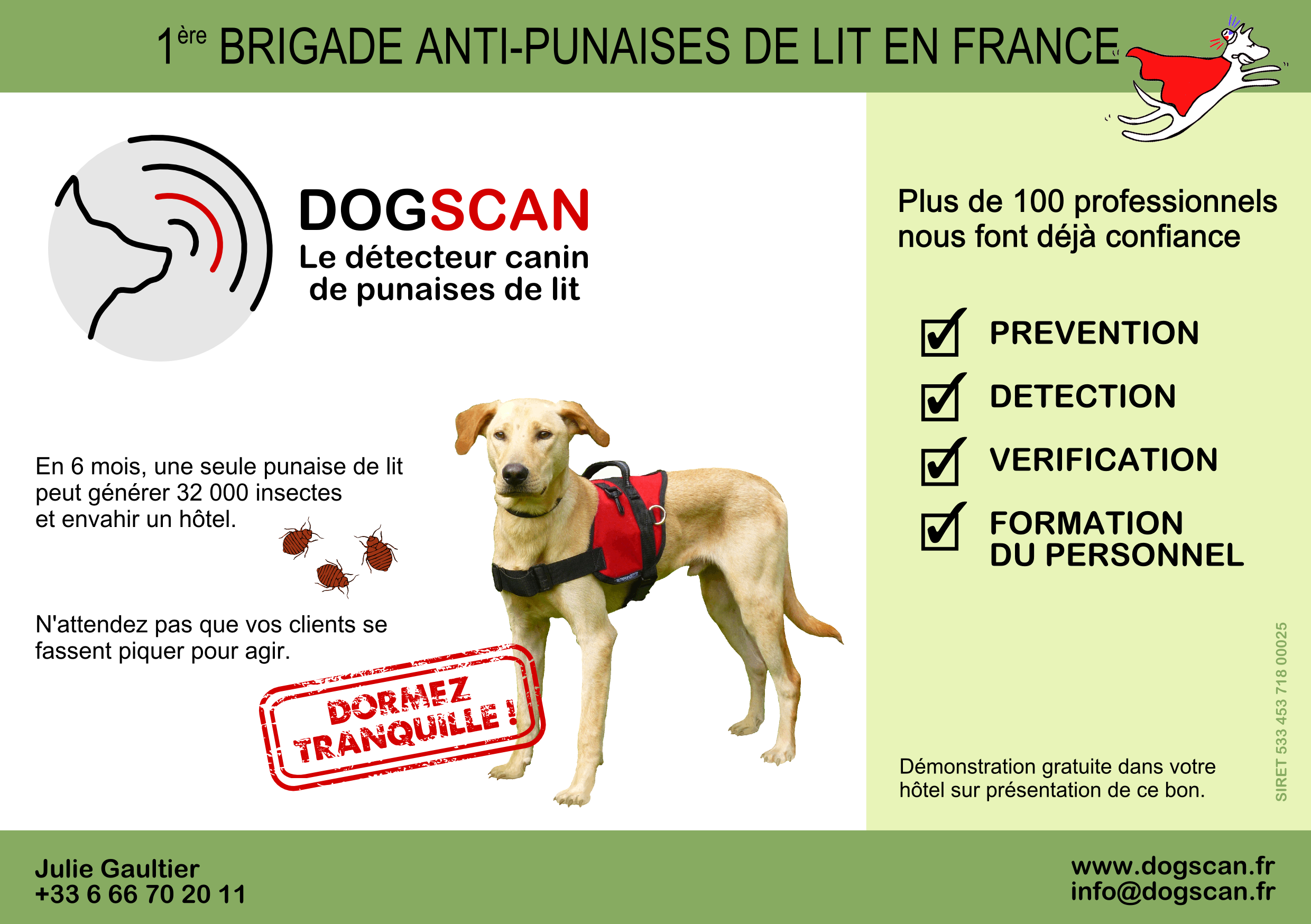 detection anti-punaise de lit
