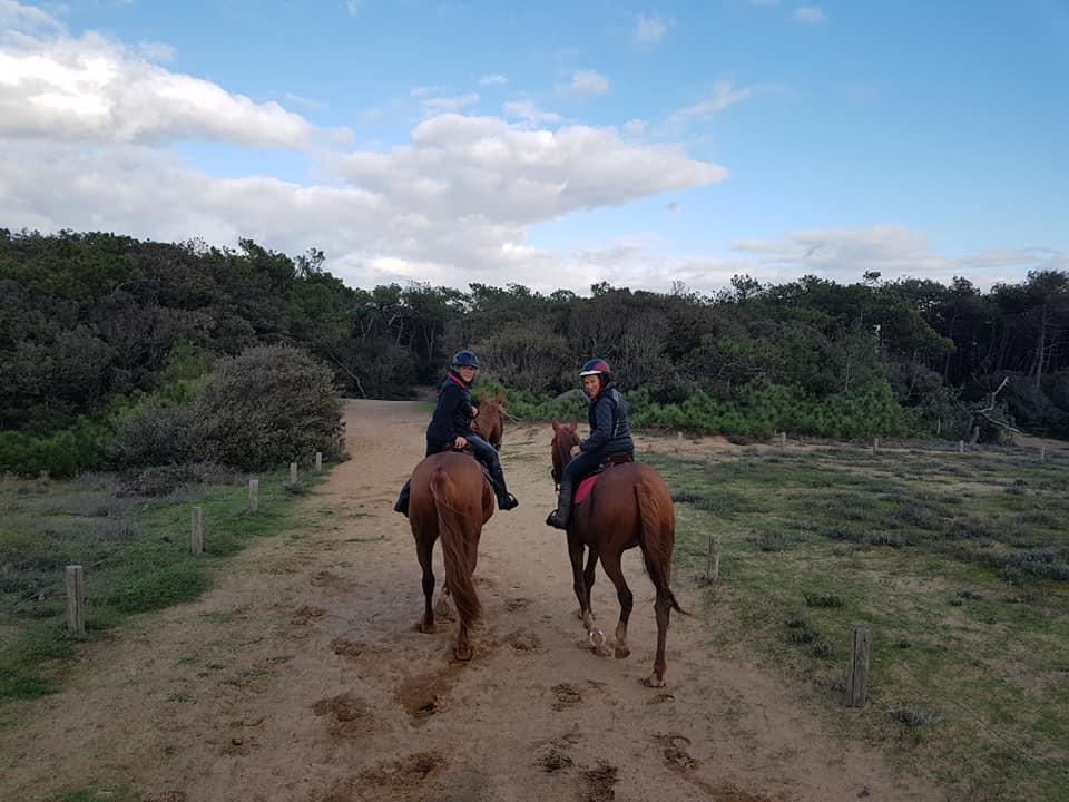 Equitation à l'Ile de Ré